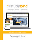 StudySync Reading/Writing Companion cover, Grade 6