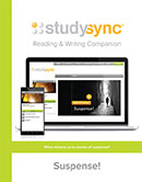 StudySync Reading/Writing Companion cover, Grade 8