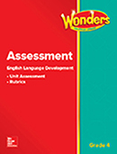 ELD Assessment cover, Grade 4
