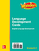 ELD Language Development Cards, Grades K-1