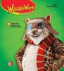 WonderWorks Intervention Teacher Edition cover, Grade 4