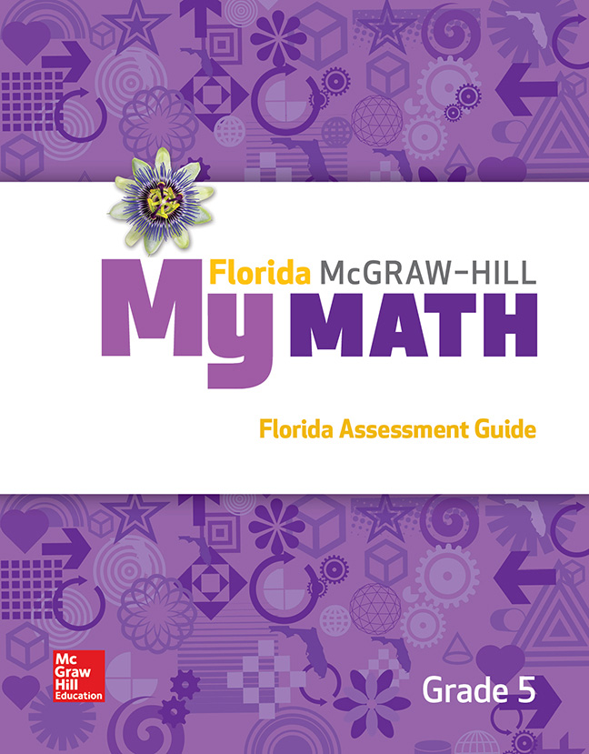 Florida My Math Assessment Guide cover