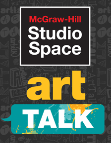 McGraw Hill Studio Space: ArtTalk cover