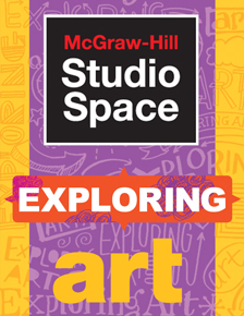 McGraw Hill Studio Space: Exploring Art cover