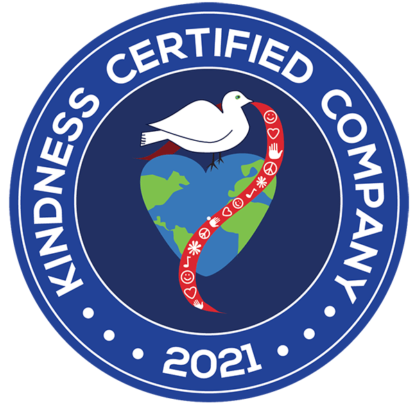 Kindness Certified Company 2021 logo