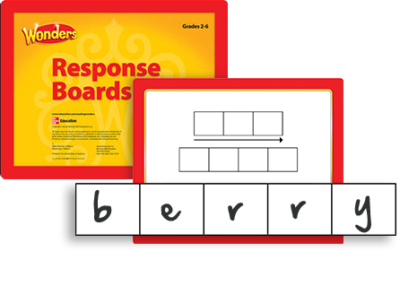 Reading Response Boards