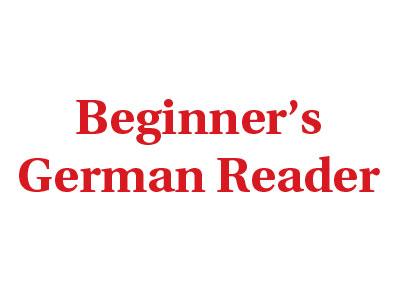 Beginner's German Reader Logo