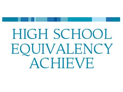High School Equivalency Achieve logo