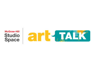 Studio Space: ArtTalk Logo