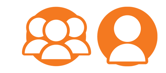 Group & Individual Activity icons