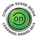 2014 Common Sense Media Learning Award