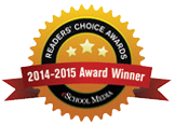 eSchool Media Readers' Choice Award Winner 2014-2015