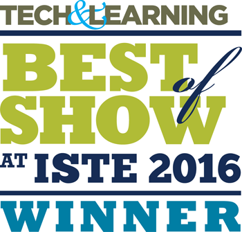 Tech & Learning Best of Show at ISTE 2016