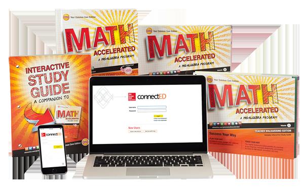 Glencoe Math Accelerated: A Pre-Algebra Program © 2014