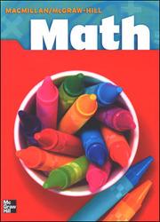 Macmillan/McGraw-Hill Math, Grade 3, Pupil Edition