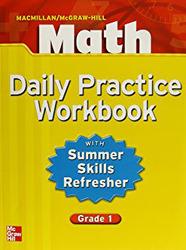 Macmillan/McGraw-Hill Math, Grade 1, Daily Practice Workbook