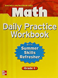 Macmillan/McGraw-Hill Math, Grade 1, Daily Practice Workbook