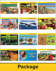 Math Connects, Grade K, Real-World Problem Solving Readers Deluxe Package (Spanish)