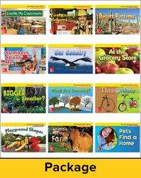 Math Connects, Grade K, Real-World Problem Solving Readers Package (On Level)