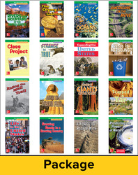 McGraw-Hill My Math, Grade 4, Real-World Problem Solving Readers Package (On-Level)