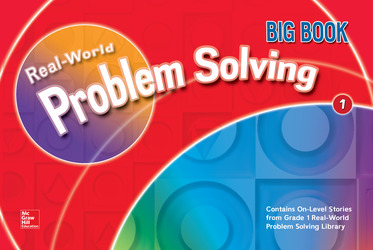 Math Connects, Grade 1, Real-World Problem Solving Readers Big Book