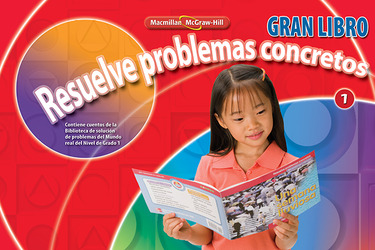 Math Connects, Grade 1, Real-World Problem Solving Readers Big Book (Spanish)