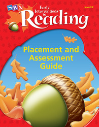 Early Interventions in Reading Level K, Additional Placement and Assessment Guide