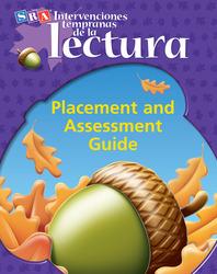 Intervenciones tempranas de la lectura, Placement and Assessment Guide