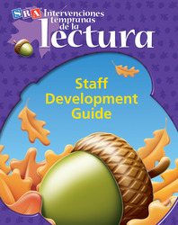 Intervenciones tempranas de la lectura, Staff Development Guide