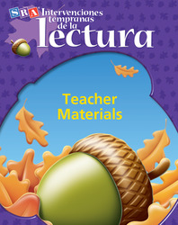 Intervenciones tempranas de la lectura, Teacher Materials Pkg