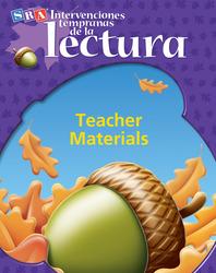 Intervenciones tempranas de la lectura, Teacher Materials Pkg