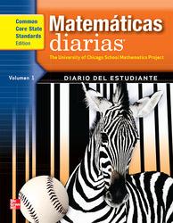 Everyday Mathematics, Grade 3, Spanish Math Journal 1
