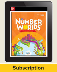 Number Worlds, Student Subscription, 1 Year
