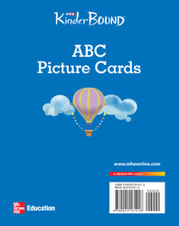 KinderBound PreK-K, ABC Picture Cards