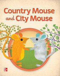 KinderBound PreK-K, Country Mouse and City Mouse Little Book (6-pack)