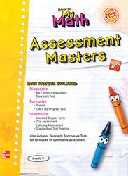 McGraw-Hill My Math, Grade K, Assessment Masters