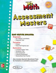 McGraw-Hill My Math, Grade 2, Assessment Masters