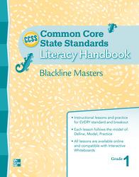 Treasures CCSS, Grade 1, Handbook Blackline Master Grade 1