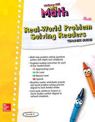 McGraw-Hill My Math, Grade K, Real-World Problem Solving Leveled Readers Teacher Guide