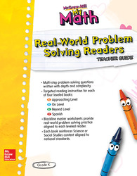 McGraw-Hill My Math, Grade K, Real-World Problem Solving Leveled Readers Teacher Guide