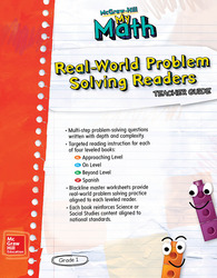 McGraw-Hill My Math, Grade 1, Real-World Problem Solving Readers Teacher Guide