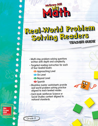 McGraw-Hill My Math, Grade 2, Real-World Problem Solving Readers Teacher Guide