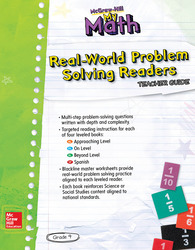 McGraw-Hill My Math, Grade 4, Real World Problem-Solving Leveled Reader Teacher Guide