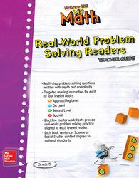 McGraw-Hill My Math, Grade 5, Real-World Problem Solving Leveled Reader Teacher Guide