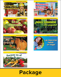 McGraw-Hill My Math, Grade K, Spanish Real-World Problem Solving Reader Package for My Learning Station