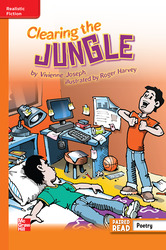 Reading Wonders Leveled Reader Clearing the Jungle: Approaching Unit 2 Week 5 Grade 5