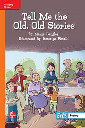 Reading Wonders Leveled Reader Tell Me the Old, Old Stories: Approaching Unit 4 Week 5 Grade 5