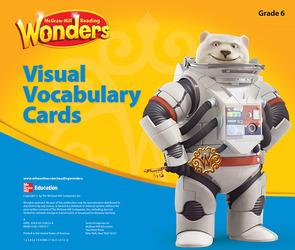 Reading Wonders, Grade 6, Visual Vocabulary Cards