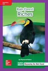 Reading Wonders Leveled Reader Rain-Forest Riches: ELL Unit 1 Week 3 Grade 6