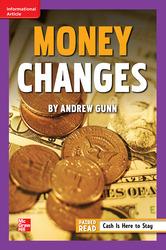 Reading Wonders Leveled Reader Money Changes: ELL Unit 1 Week 5 Grade 6